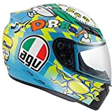 AGV K3 Wake Up Full Face Motorcycle Helmet (Multicolor, X-Small)