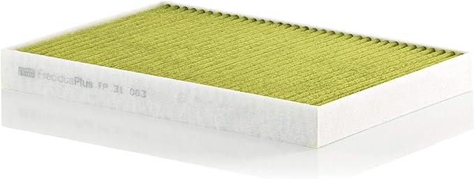 Original Mann Filter Innenraumfilter Fp 31 003 Freciousplus Biofunktionaler Pollenfilter Für Pkw Auto