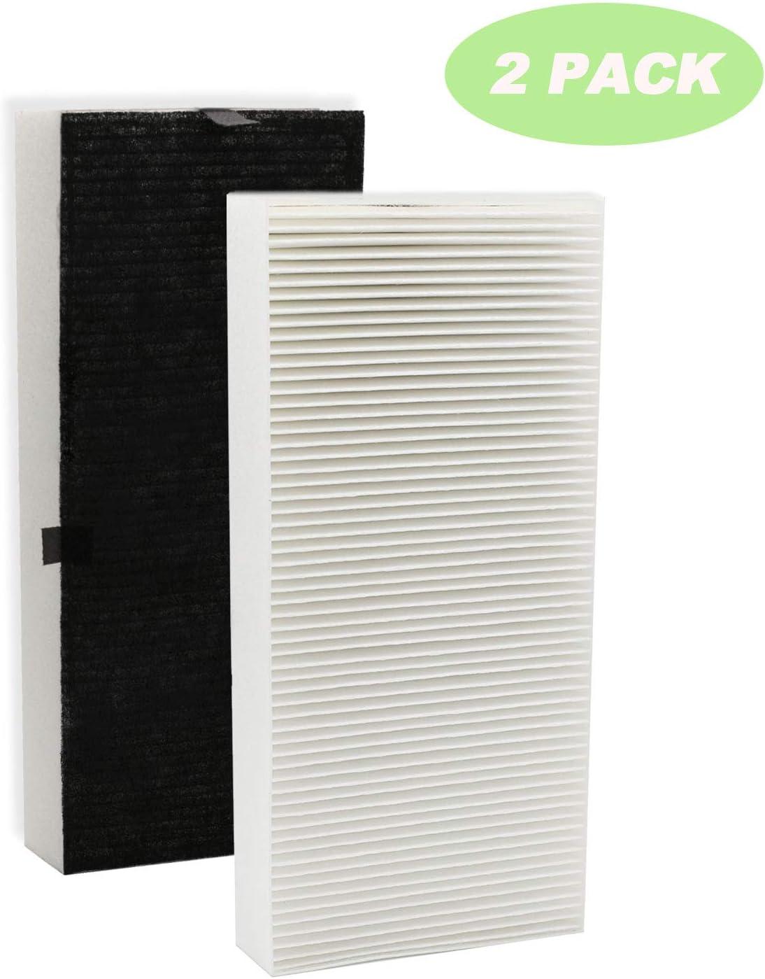 IOYIJOI 2 Pack Filter U Replacement for Febreze FRF102B Honeywell Filter HHT270, HHT290 Series