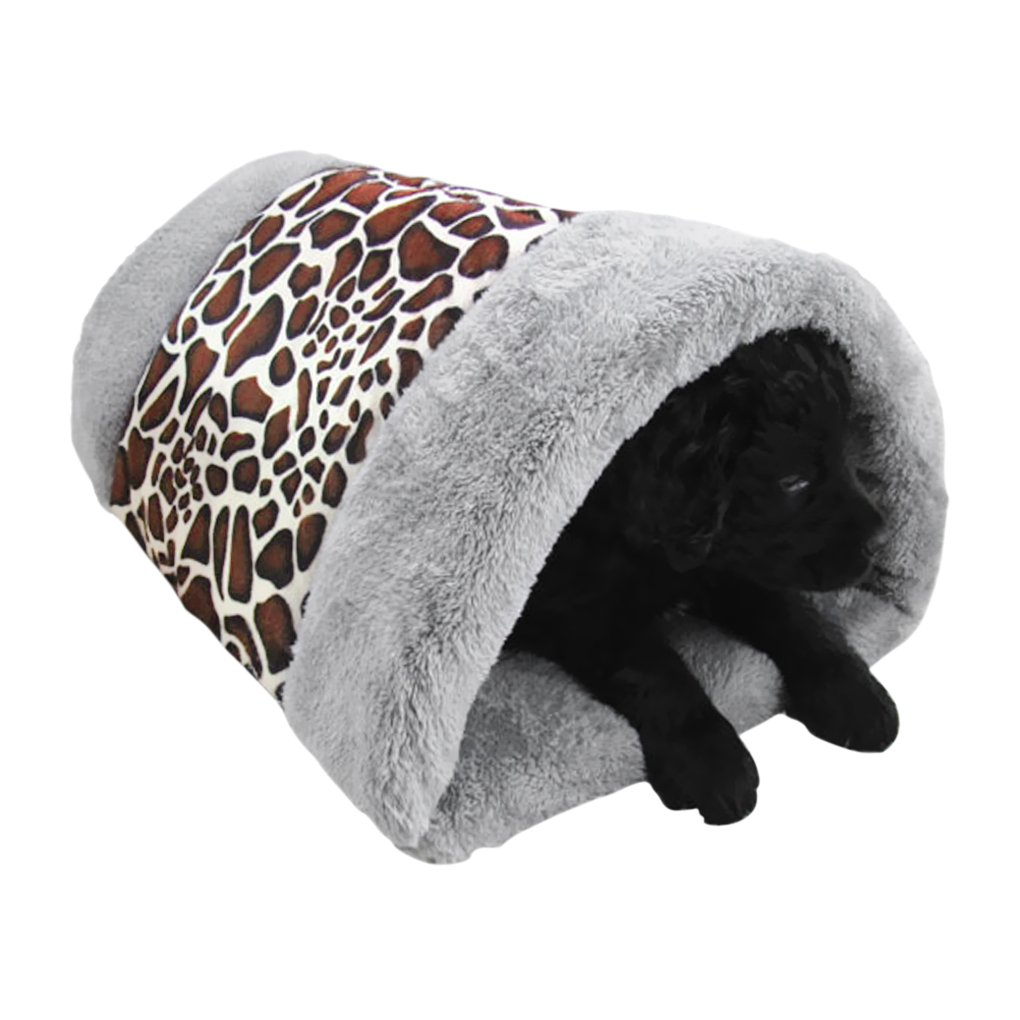 Sac de Couchage Lit Douillet Maison pour Chat Chien Confortable et chaleureux Lit Maison pour Chat Chien Chiot Nid de Couchage Sac de Couchage Nid d'Hiver Panier chaud de Pet Accessoire pour Animal YSXY