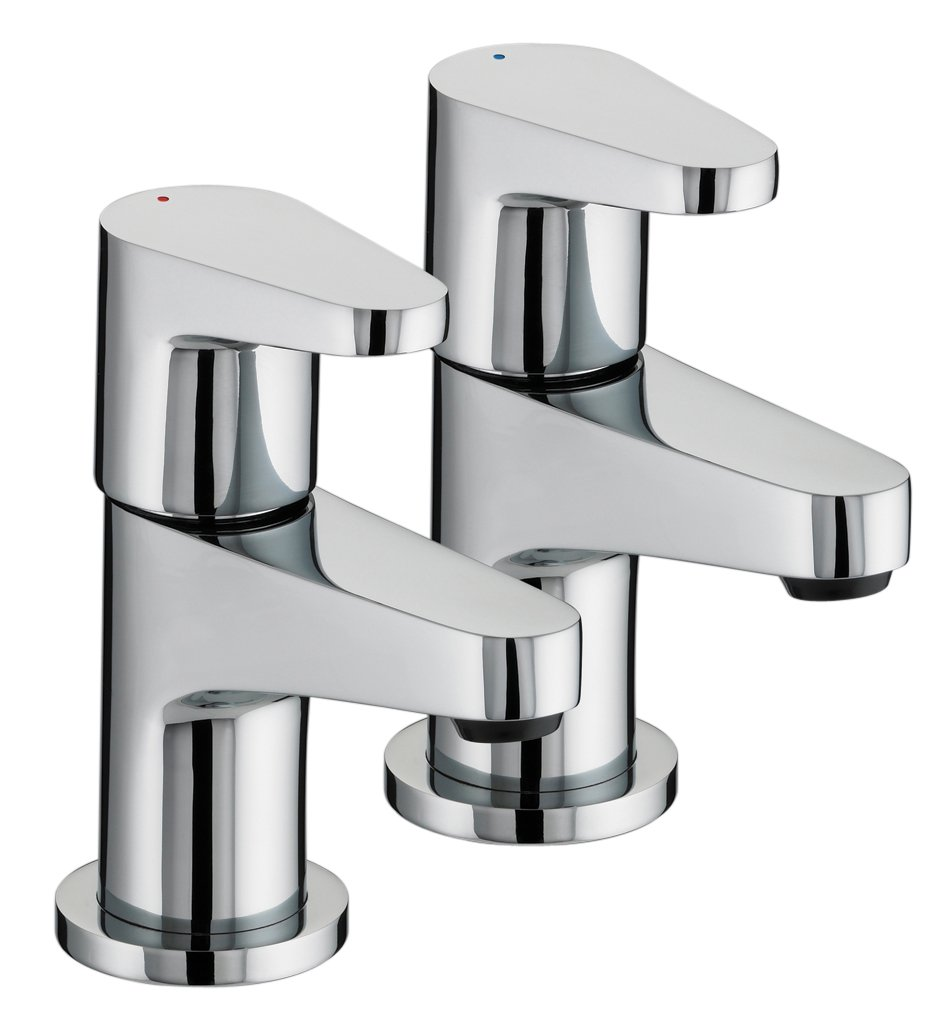 Bristan QST 1/2 C Chrome Plated Quest Basin Taps: Amazon.co.uk: DIY ...