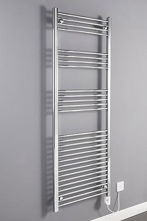 WarmeHaus Bergen - Secador de toallas, eléctrico, 1600 x 600mm: Amazon.es: Hogar