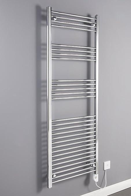 WarmeHaus Bergen - Secador de toallas, eléctrico, 1600 x 600mm