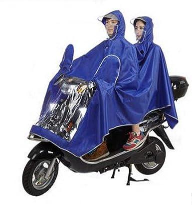 SHUHANX Poncho Impermeable Mascarilla Impermeable para Motocicleta ...