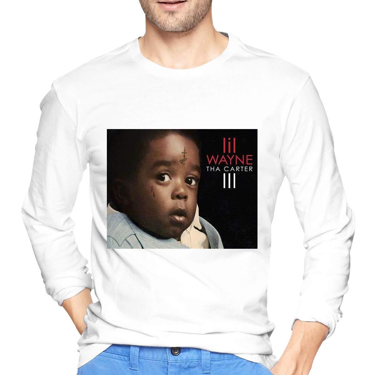 Lihehen Man Tha Carter Iii Fashion Leisure Round Neck Shirt