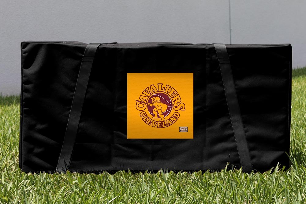 Victory Tailgate Cleveland Cavaliers NBA Hardwood Classic Cornhole Carrying Case