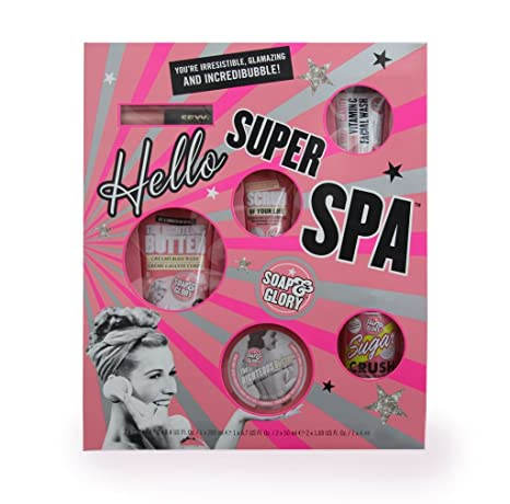soap glory hello soaper spa christmas gift set