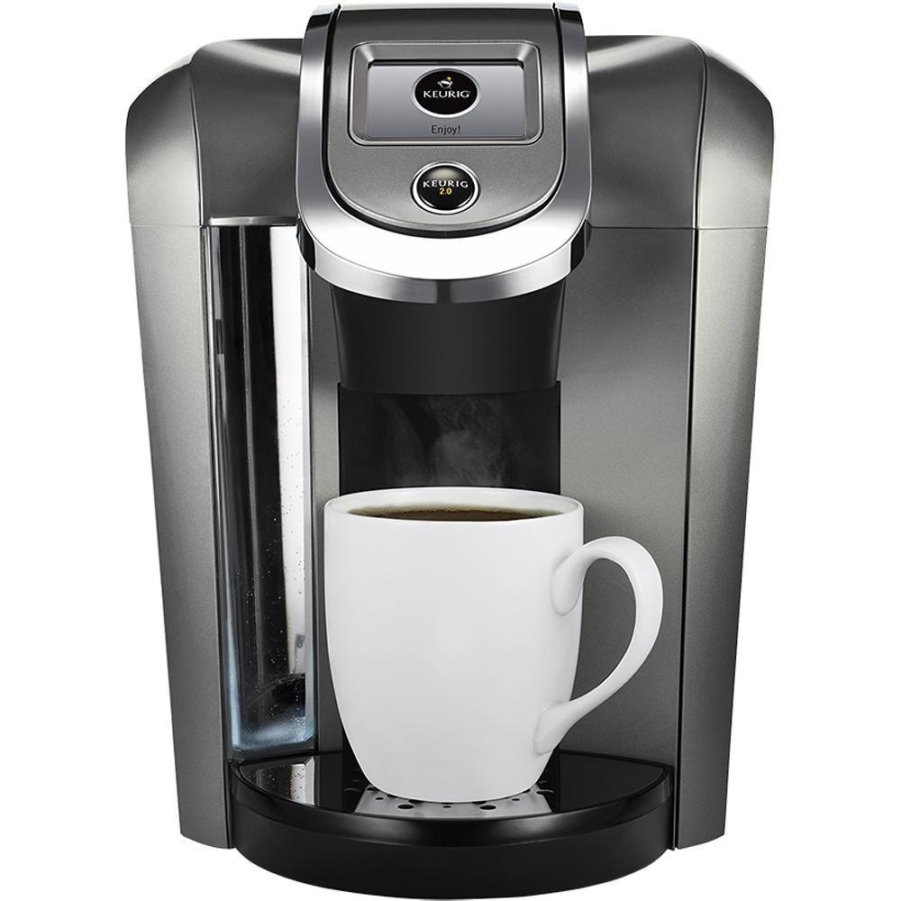 Electronic Keurig Coffee Machine Price amazon com keurig k550 coffee maker single serve 2 0 brewing system with top needle cleaning maintenance accessory and my k cup reusa