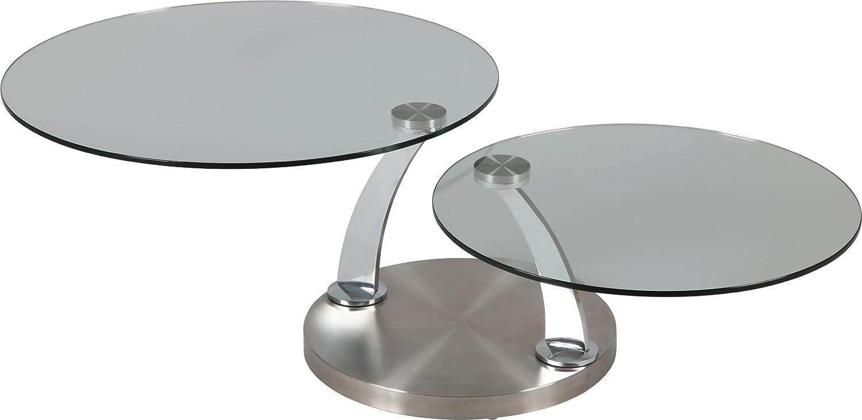 Glas Ablagen, rund, drehbar