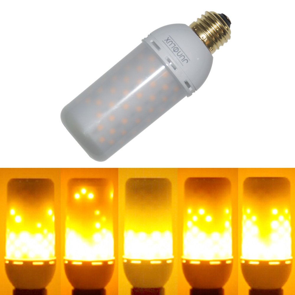 Led decorative lights flicker flame light bulb creative fire effect lamp ebay Flickering light bulbs