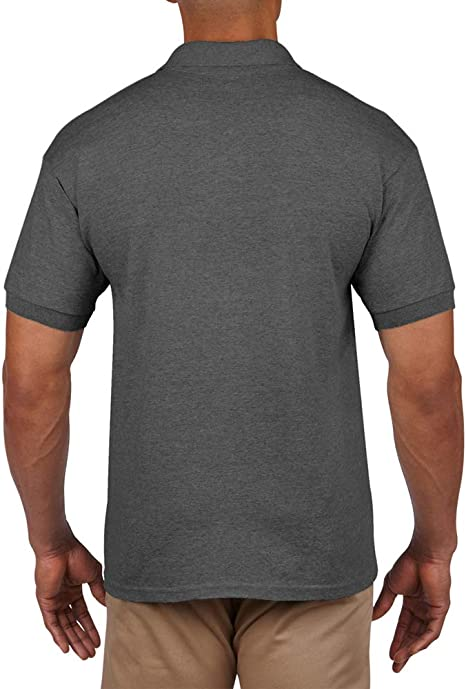 New Ladies Gildan Dry-Blend Polo Shirt Sports Grey XXL//18 L116