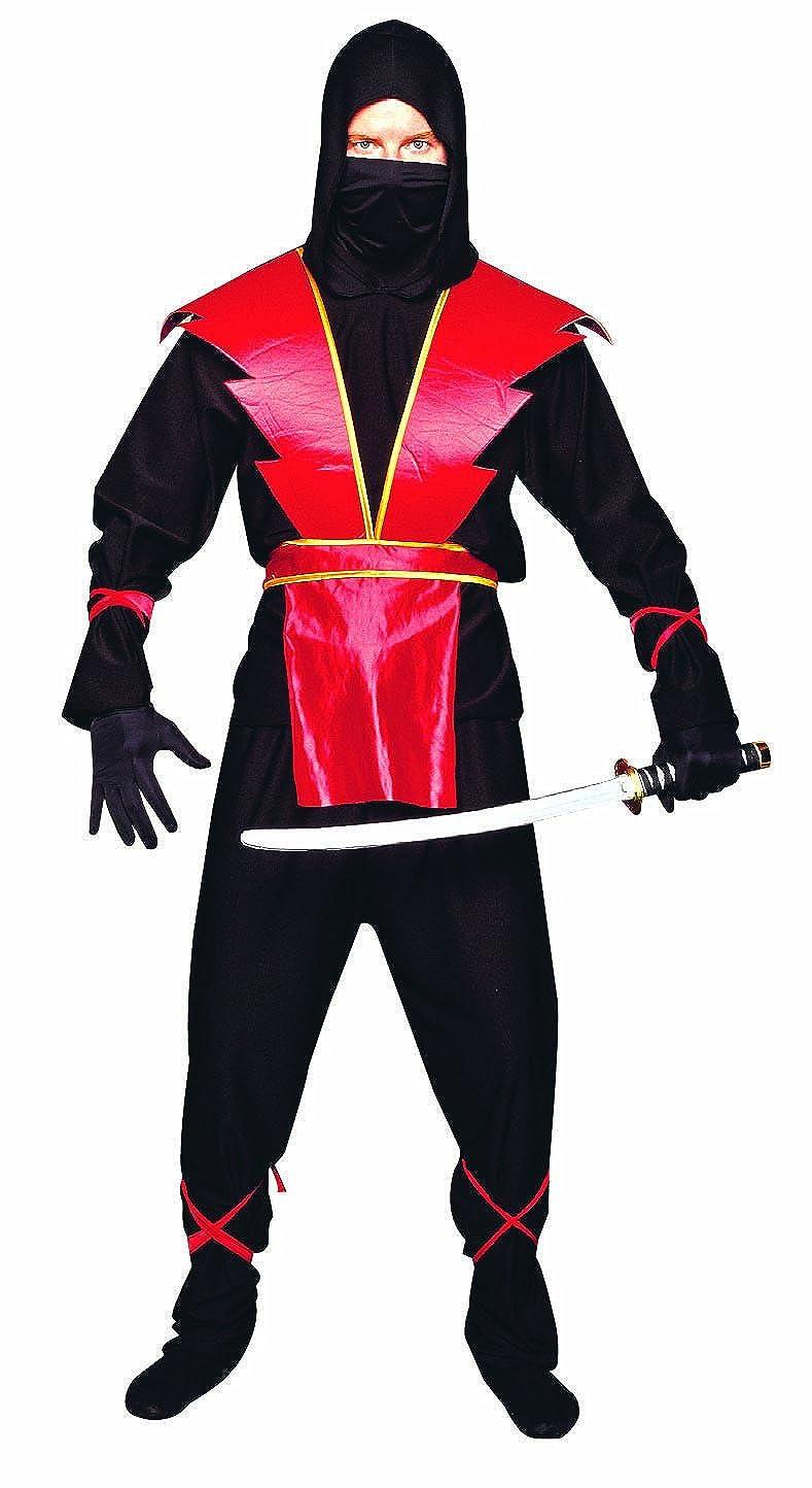 Disfraces RG 77139 Red Ninja Traje adolescente Maestro ...