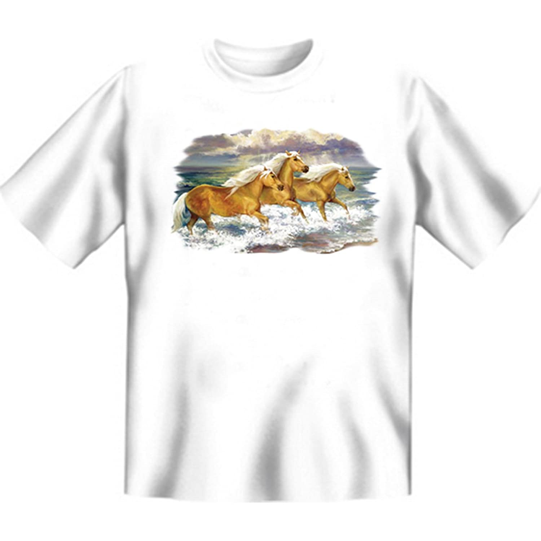 Horse L or XL S M Fantasea Ponies Western Sweatshirt