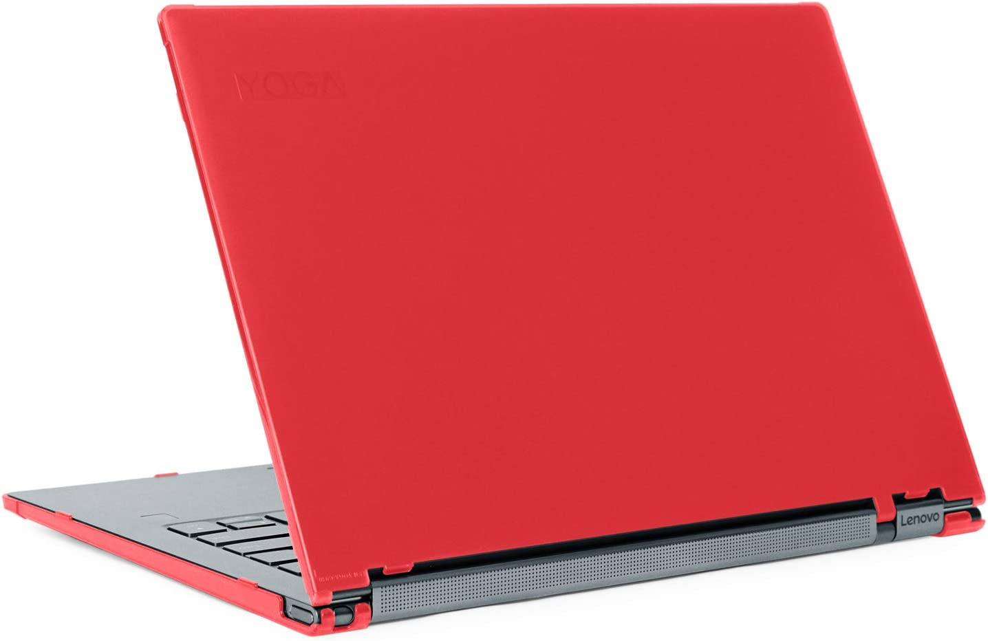 "mCover Hard Shell Case for Late-2019 14"" Lenovo Yoga C940 Series (NOT Fitting Older Yoga 900/910 / 920 / C930) multimode Laptop Computer (Yoga-C940 RED)"