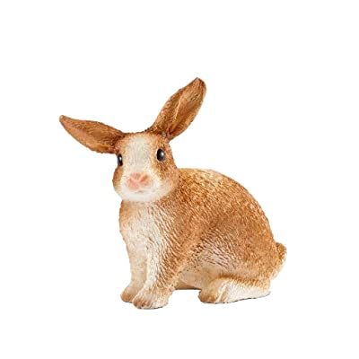 Schleich Farm World Rabbit Educational Figurine for Kids Ages 3-8: Schleich: Toys & Games