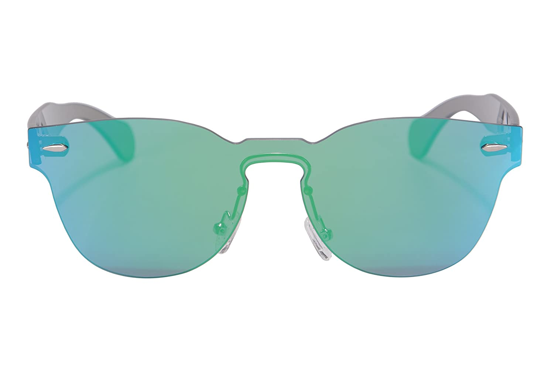 SHINU Classic Occhiali da Sole Dello Specchio del Telaio Della Cornice di Stile uno Stile Occhiali da Sole UV400 Protezione Occhiali da Sole-SH71002(c1) nANsPVrm