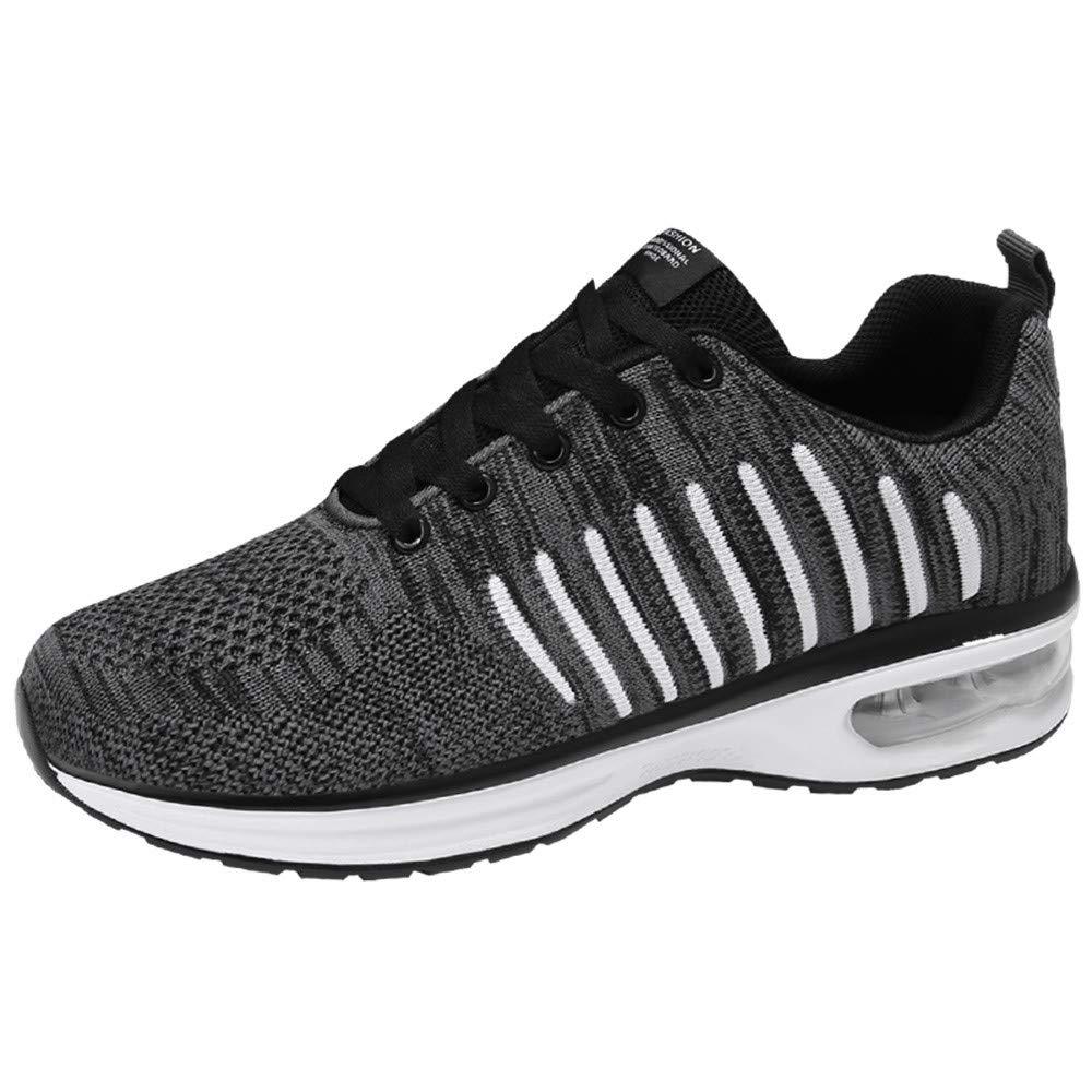 07c6f585dd890 Rawdah Men's Casual Shoes Air Cushion Sport Mesh Lace-up Non-Slip ...