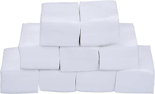 Toallitas limpiadoras de uñas, eBoot, 900 unidades, de algodón, para uñas de gel y acrílicas: Amazon.es: Belleza