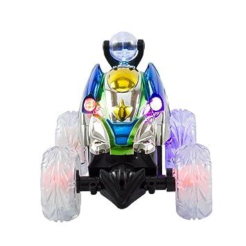 kidsthrill mando a distancia Turbo Twister 360 grado Coiling Stunt juguete coche - Master caña de acción - con luces intermitentes: Amazon.es: Juguetes y ...