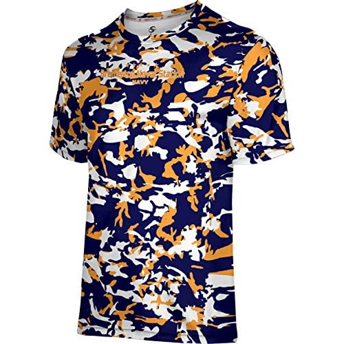 cheap ProSphere Boys' Bremerton Naval Station Military Camo Shirt (Apparel) hot sale