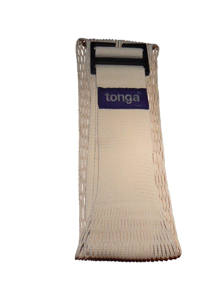 Tonga -porte bebe d'appoint ecru coton bio