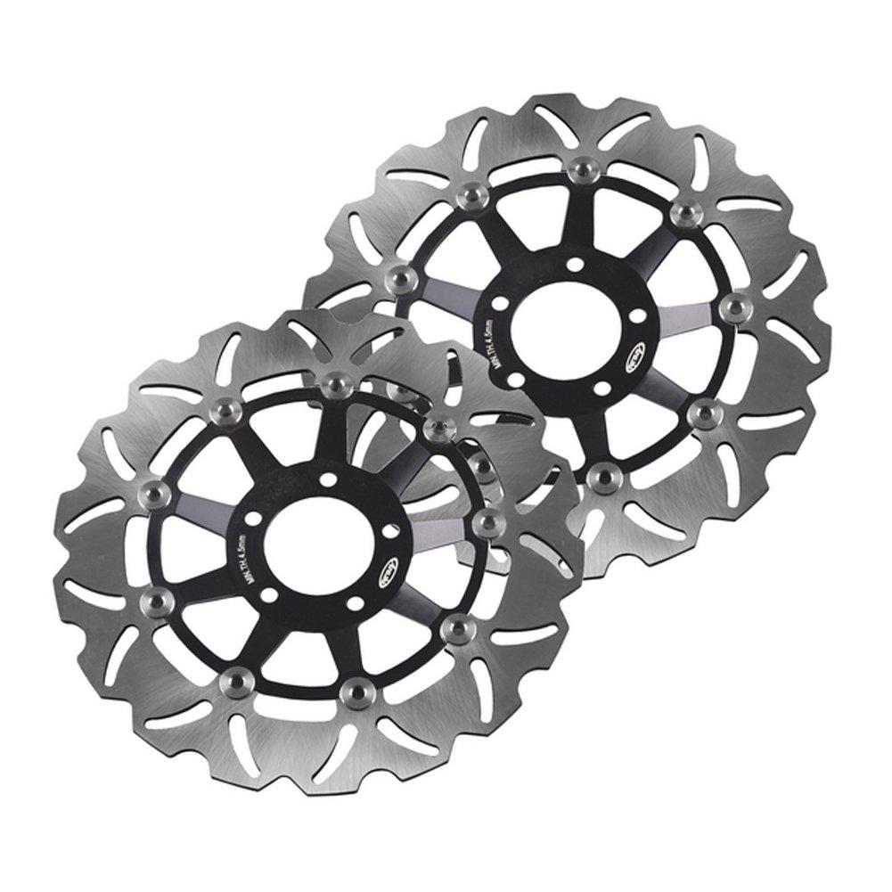 Amazon.com: GZYF Front Brake Disc Rotors Fit KAWASAKI ZXR ...