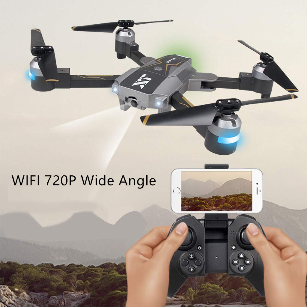 Yellsong-Drone ,XT- 8 Optical Follow RC Drone with 720P Camera Live Video Foldable Quadcopter by Yellsong-Drone (Image #2)
