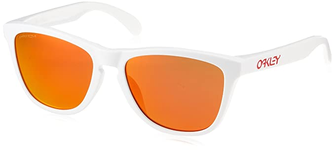 fb232566e ... canada oakley mens frogskins asian fit sunglassesospolished white prizm  ruby iridium 6d929 122b0