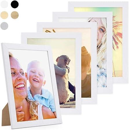 variantes Negro Blanco 2 Colores 2 de ancho Galería Marcos//Collage Marco
