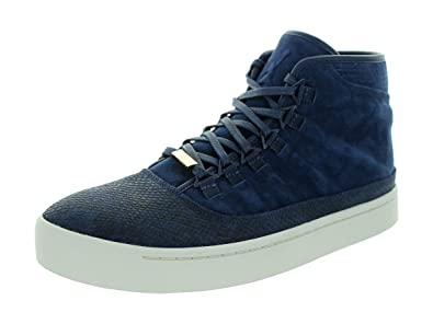 cc031a28a02 Amazon.com | Jordan Nike Mens Westbrook 0 Midnight Navy Blue/White-Black  Suede Size 10.5 | Fashion Sneakers