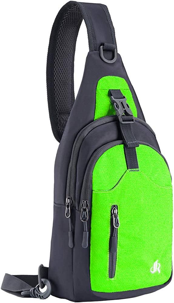 Y&R Direct 14 Colors Lightweight Sling Backpack Sling Bag Travel Hiking Small Backpack for Women Men Kids Gifts