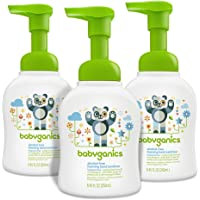 3 Pack Babyganics Alcohol-Free 8.45oz Foaming Hand Sanitizer
