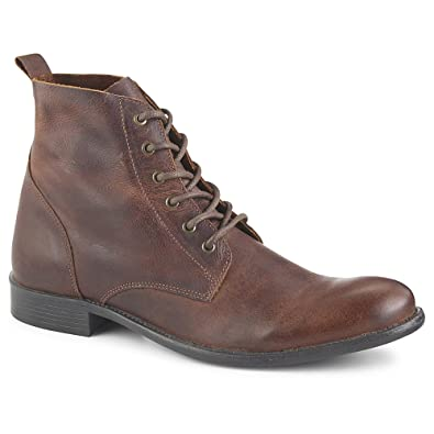 20182017 Boots Kunsto Mens Leather Lace up Dress Boot Under Discount