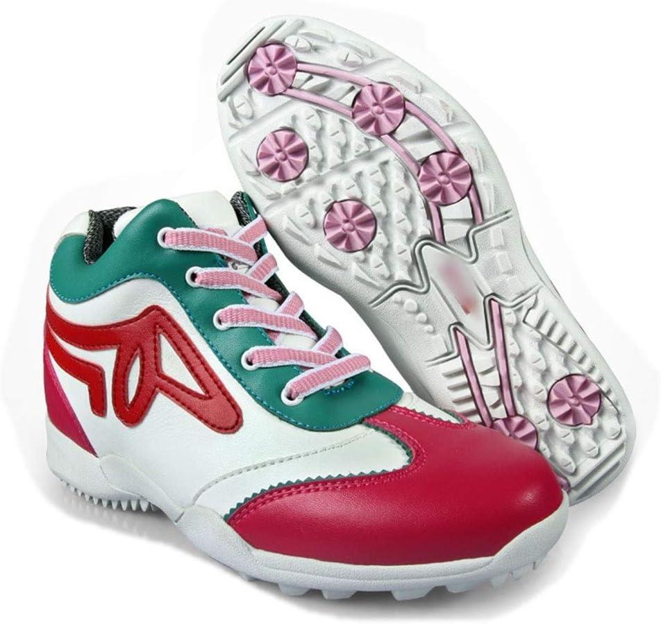 Santonliso Zapatos de Golf Transpirable Zapatillas Impermeables ...