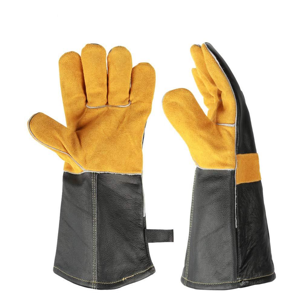 Animal Handling Gloves For Cat Dog Bird Snake Parrot Lizard Anti-Bite//Scratch Gardening Wild Animals Protection Gloves,1Pair