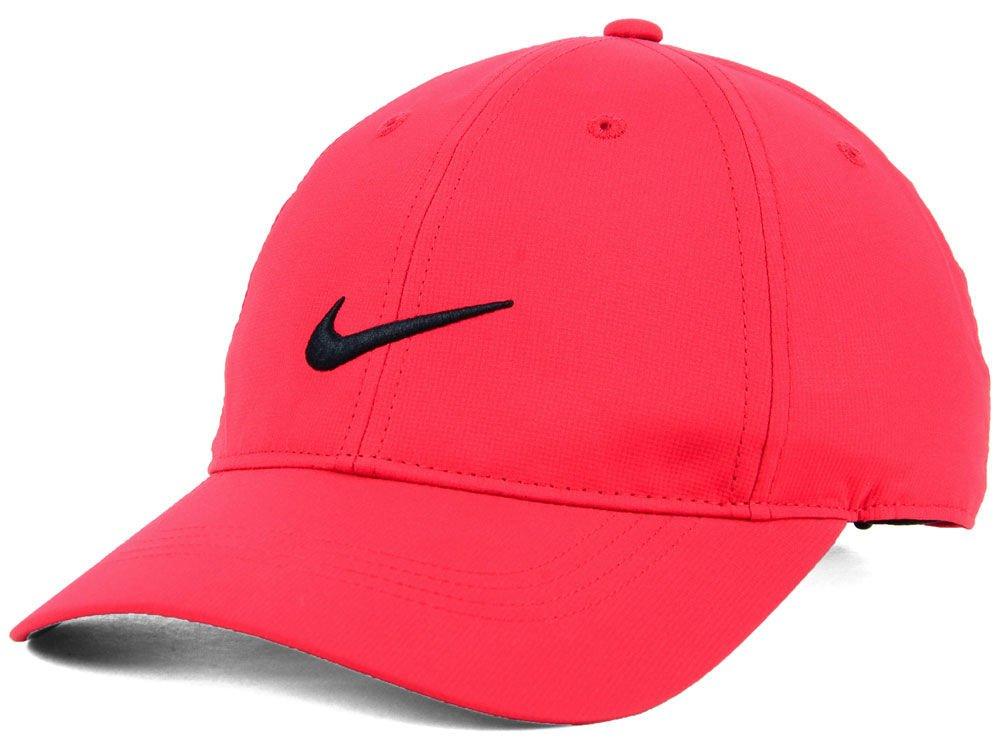 7f57d14fb7d Amazon.com  NIKE Men`s Legacy 91 Custom Tech Golf Hat (Max  Orange(727043-607) Black