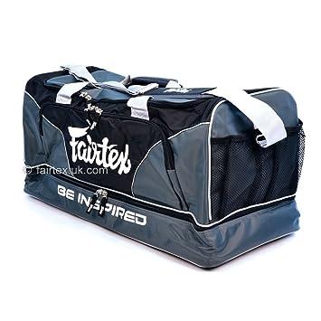 41e0b84efd95 Fairtex Heavy Duty Gym Bag - Grey  Amazon.co.uk  Sports   Outdoors