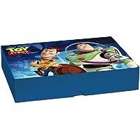 Caixa Para Presente Tampa e Fundo Cromus Embalagens na Estampa Toy Story Produzido em Peça Única 17x13,5x4,5 cm com 10…