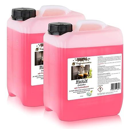 wark24 líquido descalcificador 5 litros para máquinas de ...