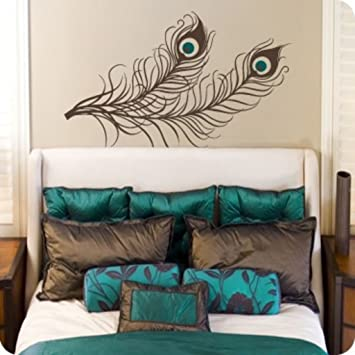 Decals Design U0027Lucky Peacock Feathersu0027 Wall Sticker (PVC Vinyl, ... Part 47
