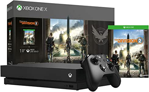 Xbox One X 1TB Console - Tom Clancy's The Division 2 Bundle (Discontinued)