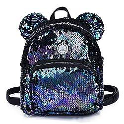 Girls Sequins Glitter Backpack
