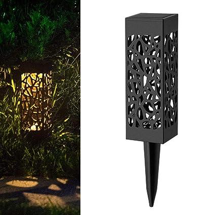 Solar LED Franja Luz Paisaje Césped Jardín Decoración Smart Light Control Outdoor Hofmeister Solar Leuchten Agua
