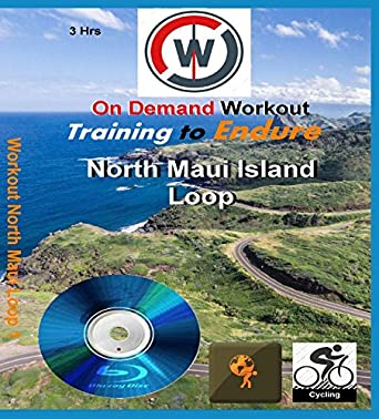 Training to Endure. North Maui Island Loop. Indoor Cycling or ...