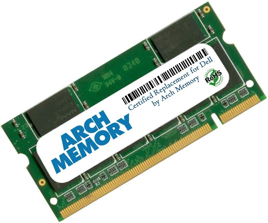 Arch Memory Replacement for Dell SNPTX760C/2G 2 GB 200-Pin DDR2 So-dimm RAM for Vostro 1088