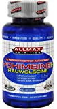 ALLMAX YOHIMBINE + RAUWOLSCINE, α2-Adrenoreceptor (α2-AR) Antagonist, Pharmaceutical Grade, Dietary Supplement, 60 Capsules, 3.5mg