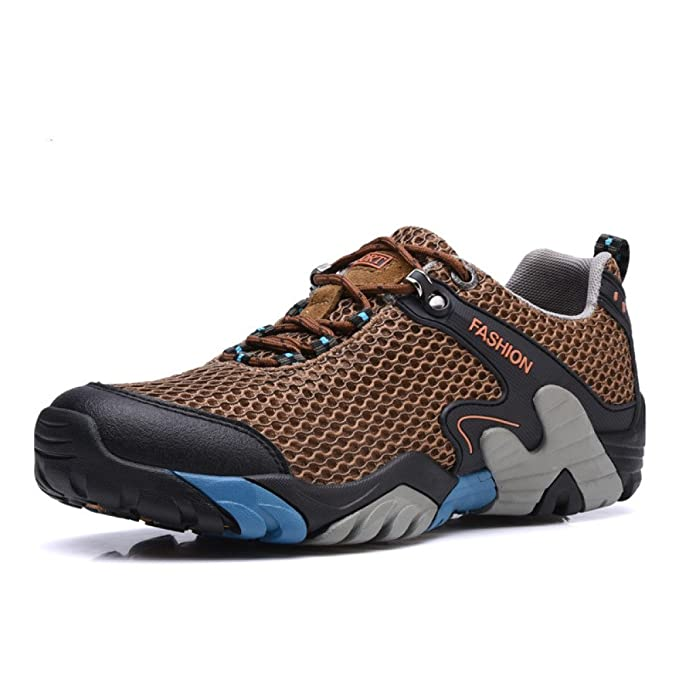 YEEOGF Zapatillas Deportivas Para Hombre Slip On Running Ligero Zapatillas Deportivas Transpirables De Malla Al Aire Libre Zapatos Casual Para Caminar: ...