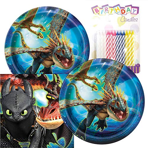 How to Train Your Dragon The Hidden World Birthday Party Pack - Includes 7