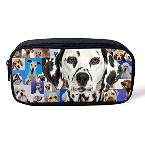 Sannovo Dalmatian Print Women Make Up Case Organizer Animal