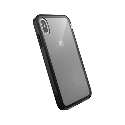 AmazonBasics Dual-Layer Case for iPhone XS Max, Black